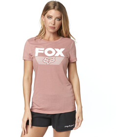 Fox Ascot SS Crew Shirt Women blush